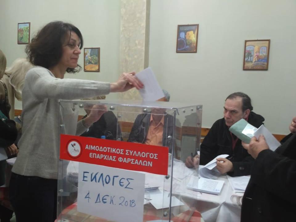 Photo of Η γενική συνέλευση και οι εκλογές του Αιμοδοτικού Συλλόγου Φαρσάλων