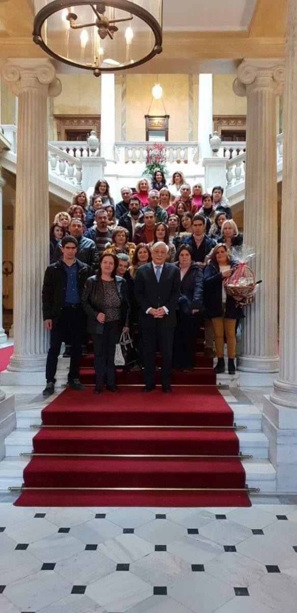 Photo of Συνάντηση με τον Πρόεδρο της Δημοκρατίας είχαν κάτοικοι του Ναρθακίου
