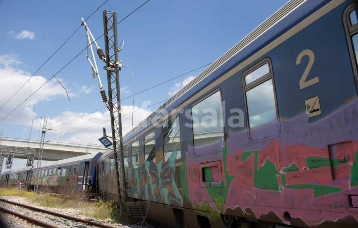 Photo of Εκτροχιασμός αμαξοστοιχίας στα Παλαιοφάρσαλα