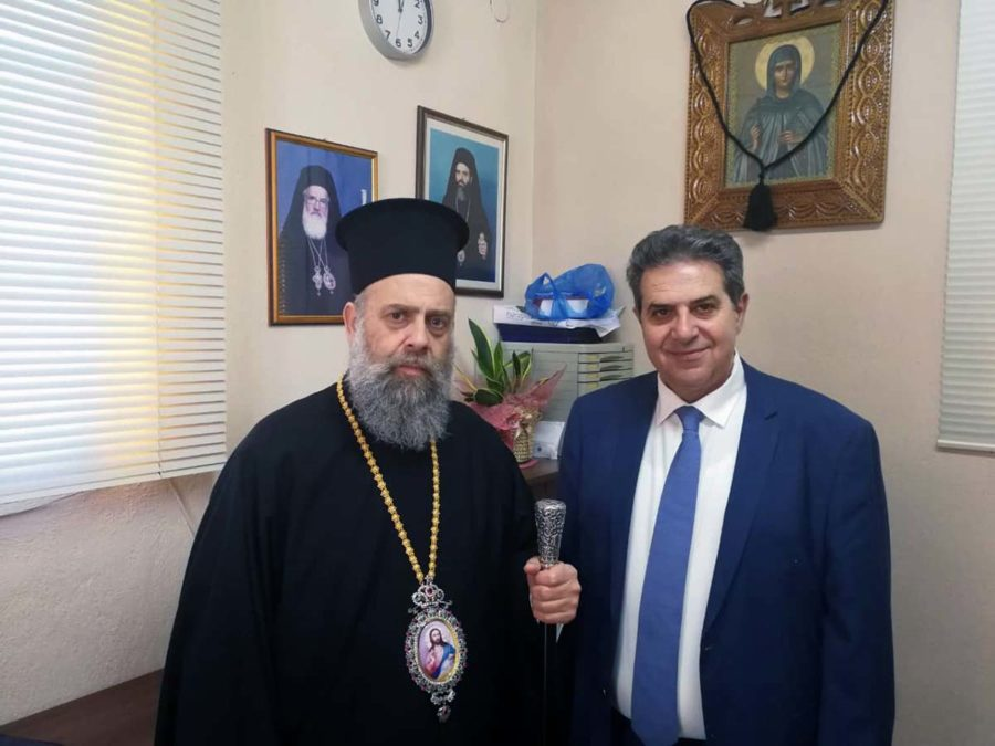 Photo of Εσκίογλου με Μητροπολίτη Θεσσαλιώτιδος: Άρρηκτα συνδεδεμένες οι σχέσεις Εκκλησίας και κοινωνίας