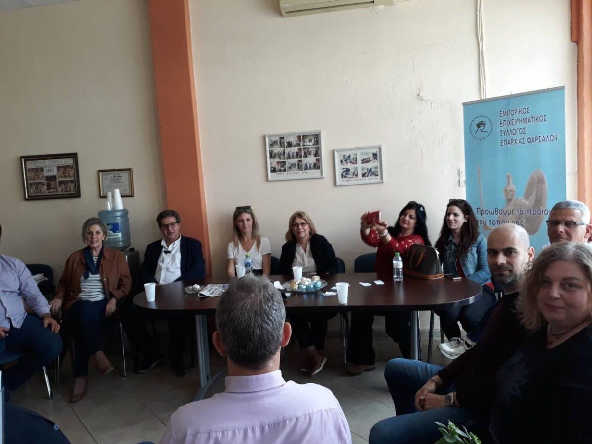 Photo of Εσκίογλου με Εμπορικό Σύλλογο: Προτεραιότητα η ώθηση σε τοπική αγορά και οικονομία