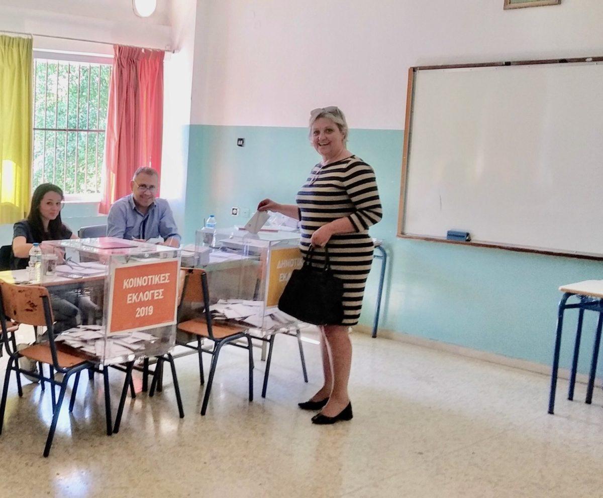 Photo of Η Μαρία Ίφου άσκησε το εκλογικό δικαίωμα
