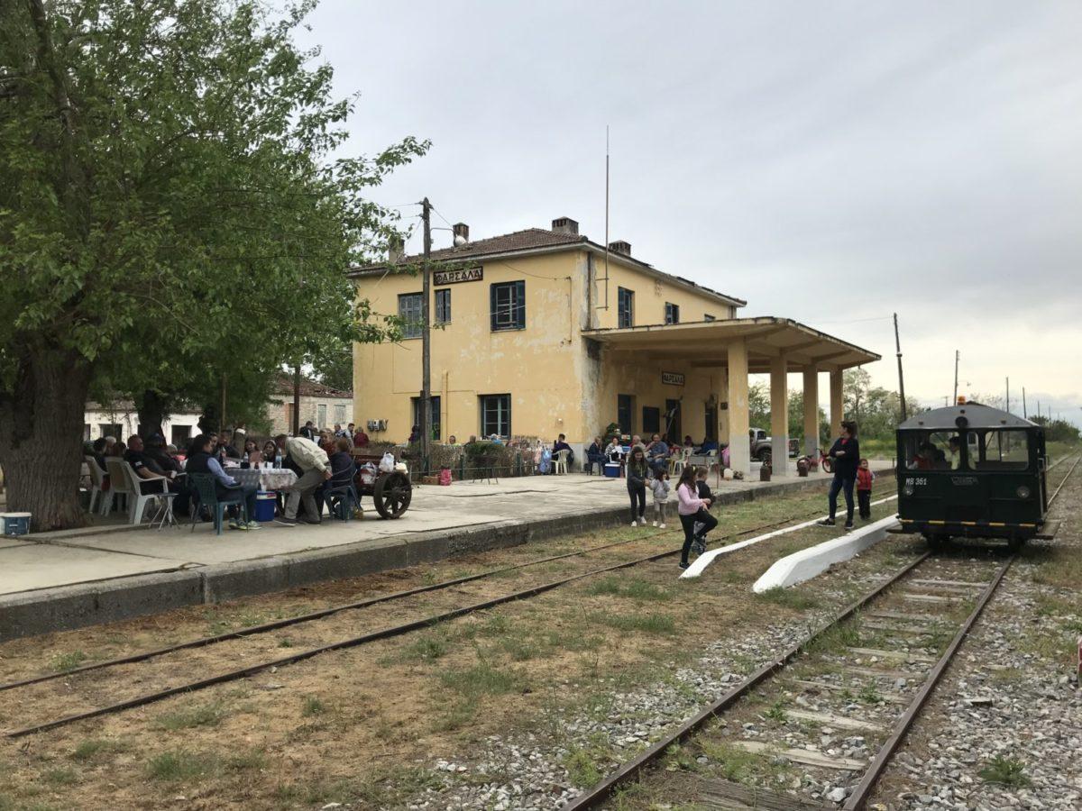 Photo of Πρωτομαγιά στο Σιδηροδρομικό Σταθμό Φαρσάλων – (vid)