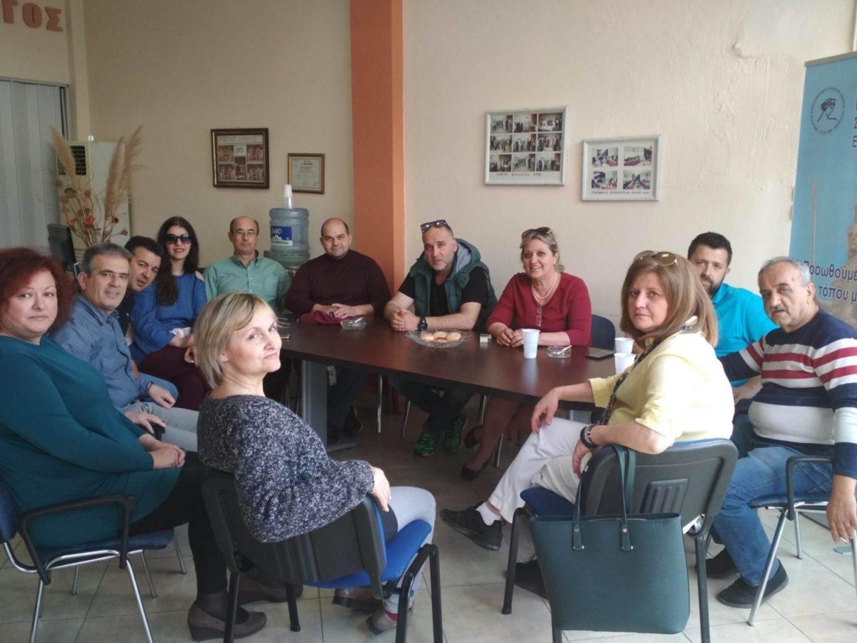 Photo of Στα γραφεία του Εμπορικού Συλλόγου ο συνδυασμός «Δημοτική Αναγέννηση»
