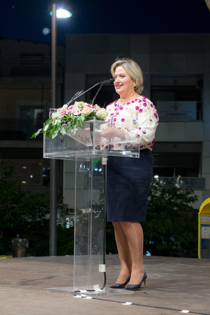 Photo of Στο εκλογικό κέντρο του κ. Εσκίογλου η κ. Ίφου