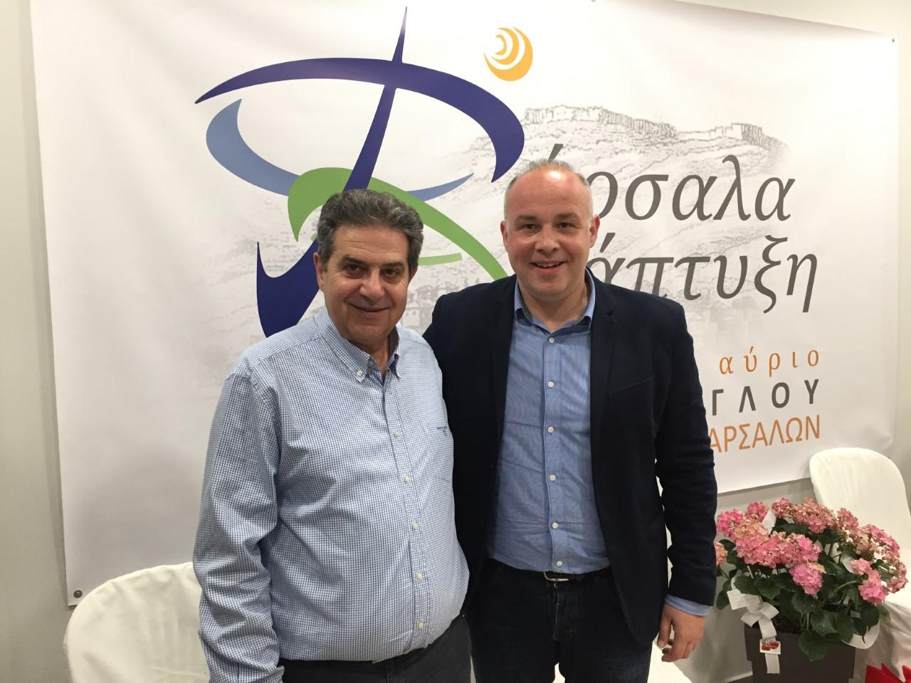 Photo of Δυναμική υποψηφιότητα στο πλευρό του κ. Εσκίογλου ο κ.Χρήστος Μπασαγιάννης