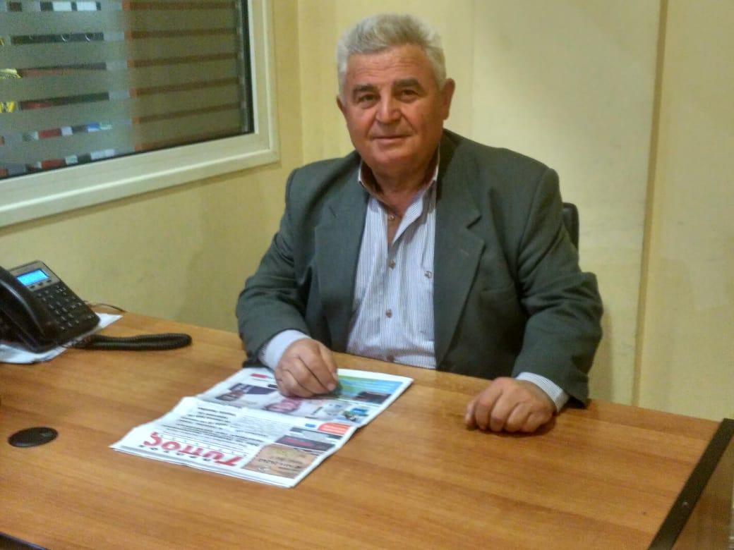 """Photo of Γιώργος Νταφόπουλος: """"Αφήνουμε πίσω το χθές και  κοιτάζουμε μπροστά με όλους τους δημότες της Επαρχίας μας"""
