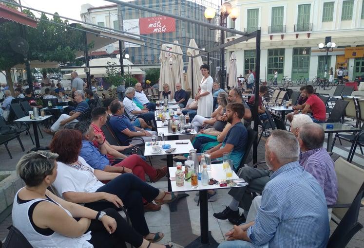 Photo of Μαρία Γαλλιού από Τύρναβο: Το ΚΙΝΑΛ δεν είναι συμπλήρωμα εξουσίας