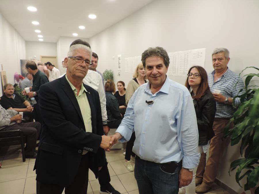 Photo of Ο κ. Κώστας Τύμπας στο εκλογικό του κ. Μάκη Εσκίογλου!