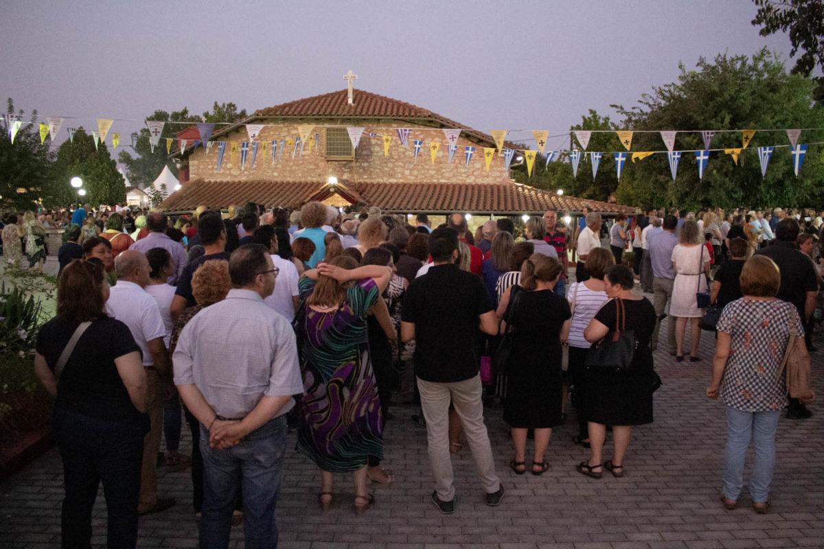 Photo of Πλήθος πιστών στην εορτή της Παναγίας Δεμερλιώτισσας