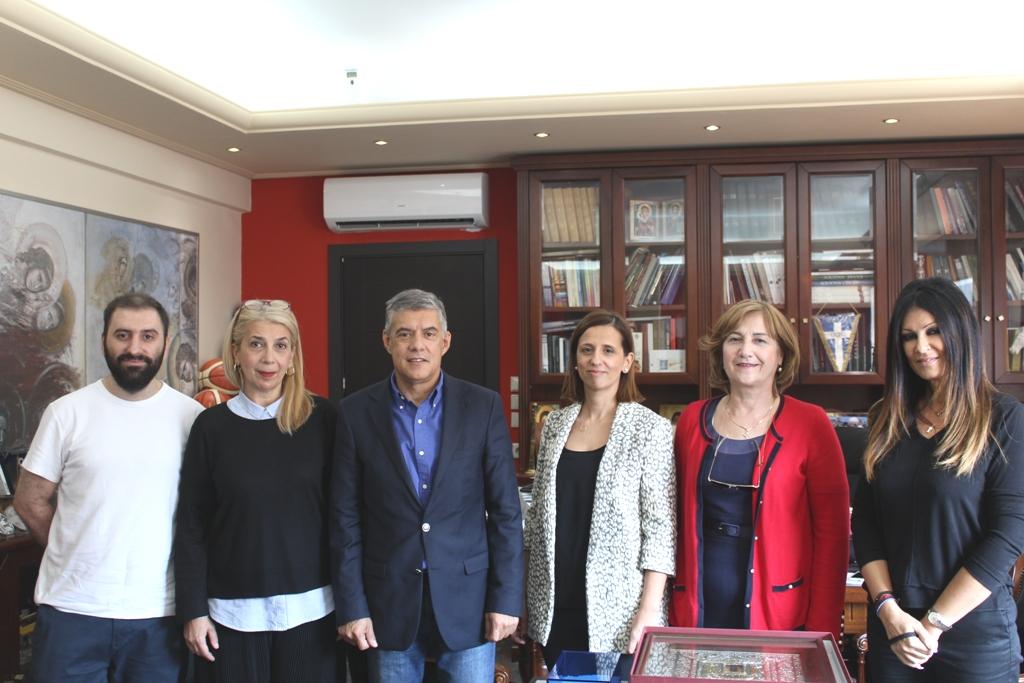 Photo of Συνάντηση του Περιφερειάρχη Θεσσαλίας με το Σύλλογο Καρκινοπαθών Λάρισας
