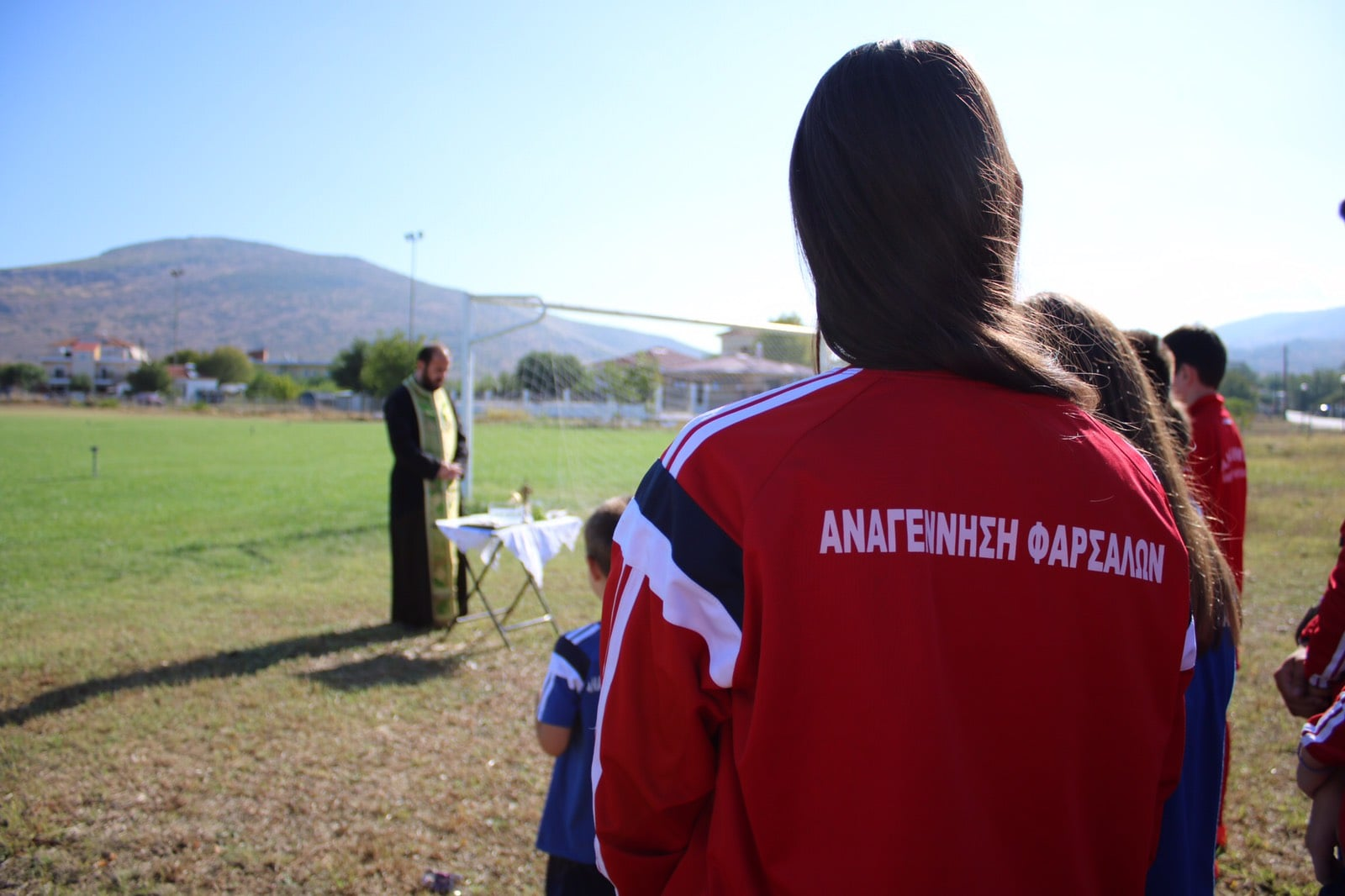 Photo of Αγιασμός για την Ακαδημία ποδοσφαίρου της Αναγέννησης Φαρσάλων