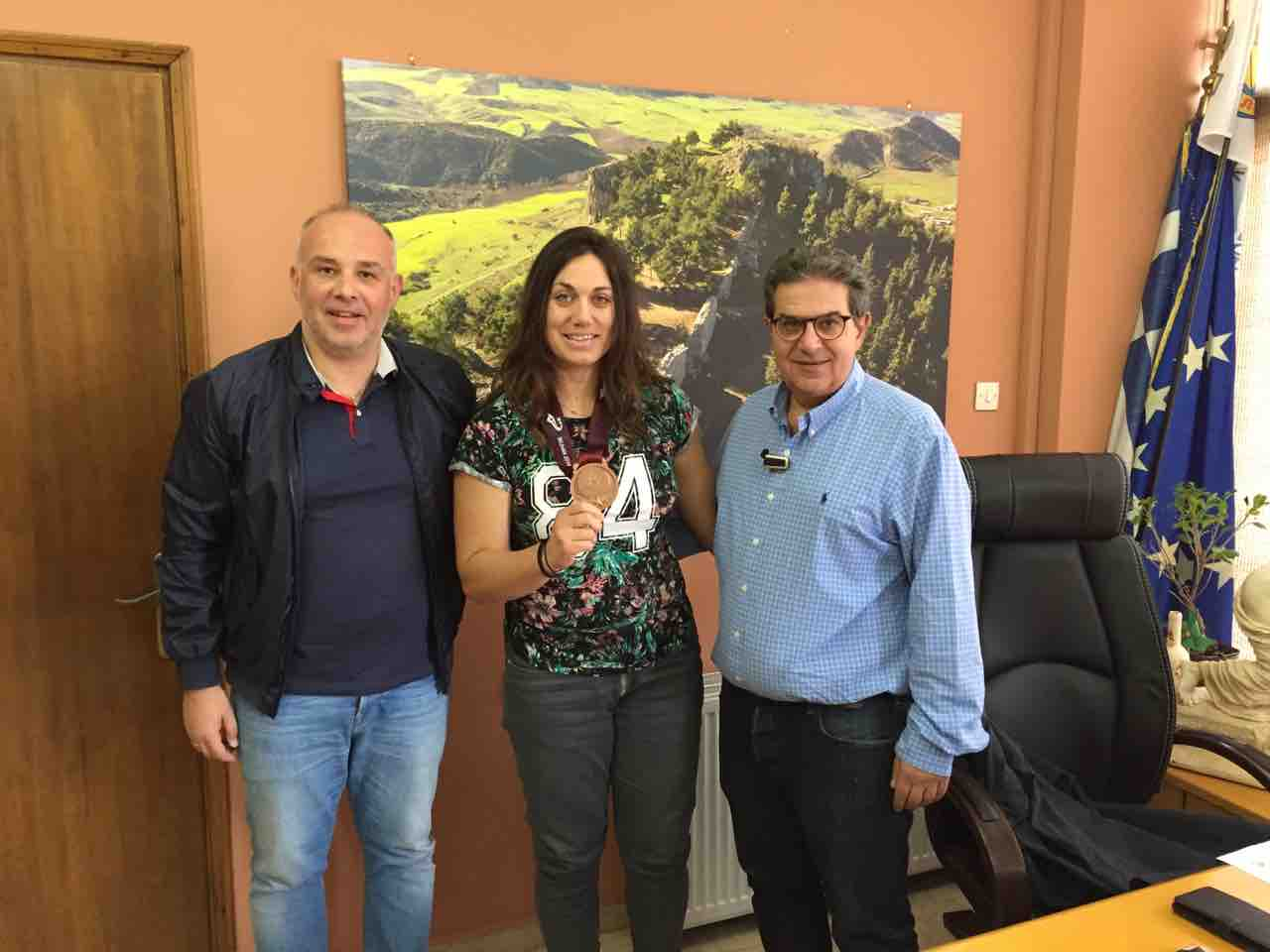 Photo of Εσκίογλου: Να γίνει αθλητική πρέσβειρα των Φαρσάλων διεθνώς, η πρωταθλήτρια Κρίστυ Αναγνωστοπούλου