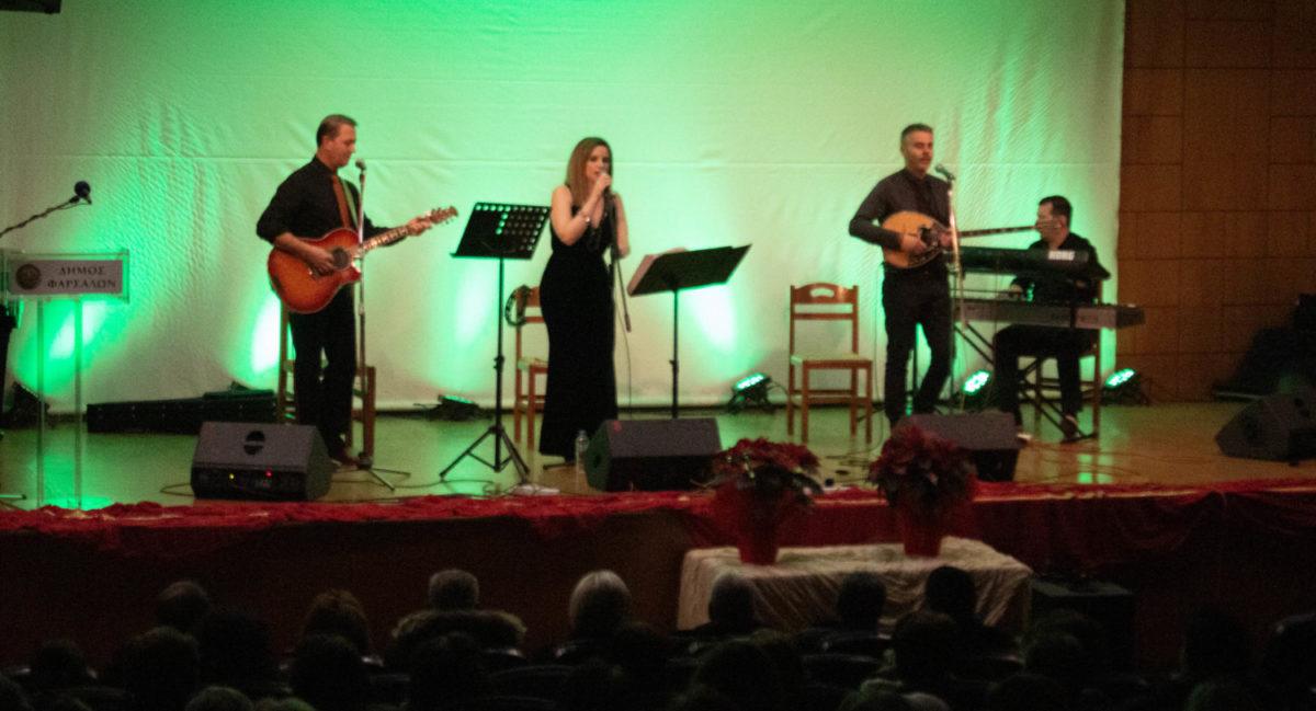 Photo of Φινάλε με ελληνικό τραγούδι για τις εορταστικές εκδηλώσεις στα Φάρσαλα