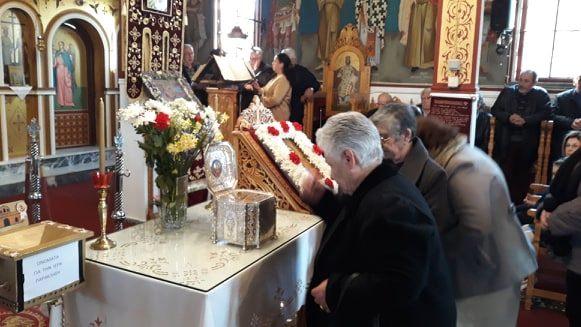 Photo of Ο Παλαιόμυλος υποδέχτηκε τη Τιμία Κάρα της Αγίας και ενδόξου μεγαλομάρτυρος Αγ. Βαρβάρας