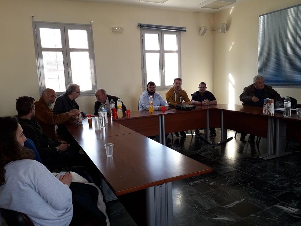 Photo of Συνεργασία κοιν. Μεγ. Ευυδρίου – Πανεπιστημίων – κτηνοτρόφων για την υποστήριξη της κτηνοτροφίας