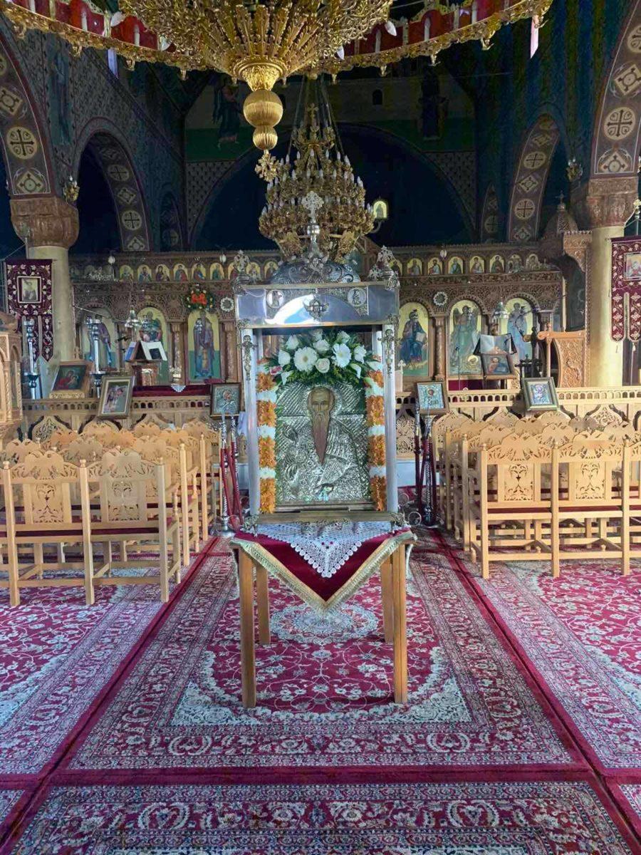 Photo of Τίμησε τον πολιούχο Άγιο Χαράλαμπο η Βαμβακού