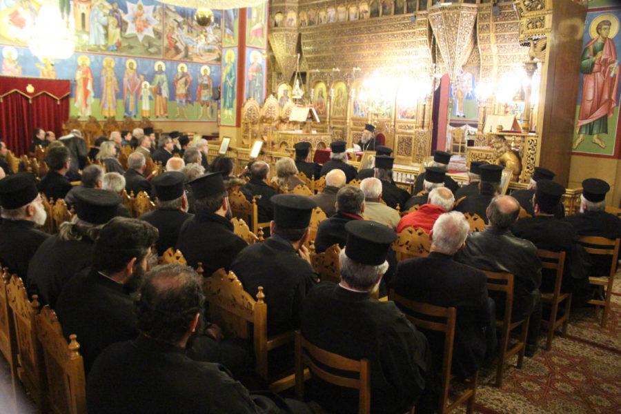 Photo of Ξεκίνησε την Πέμπτη 27/2 το Τριήμερο λειτουργικό σεμινάριο για Κληρικούς και Ιεροψάλτες στα Φάρσαλα