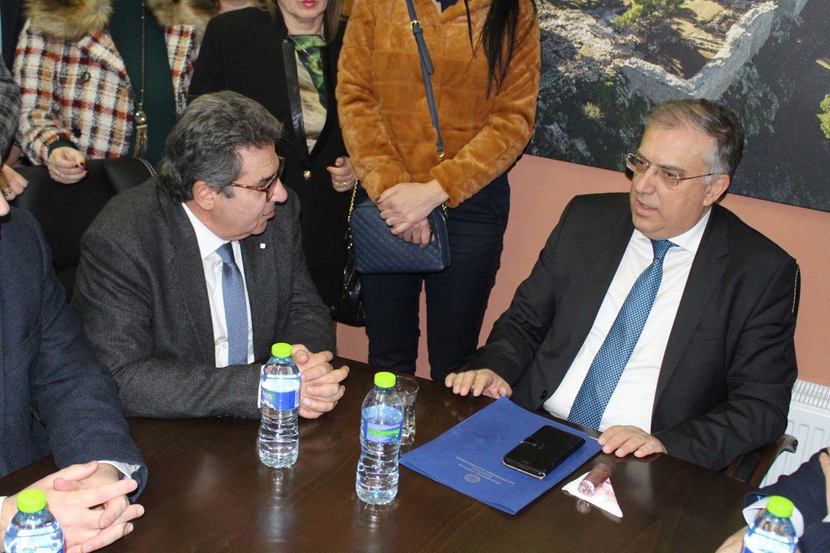 "Photo of Σήμερα (13/2) η συνάντηση Εσκίογλου – Θεοδωρικάκου στο ΥΠ.ΕΣ. με ""φόντο"" το υδρευτικό"