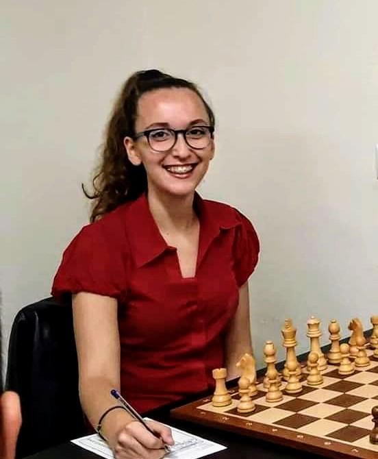 Photo of Στην Εθνική Ελλάδoς η σκακίστρια Κωνσταντίνα Δερέκα.