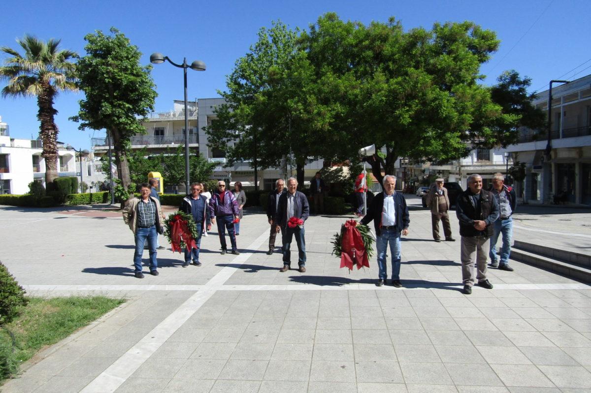Photo of Τίμησαν την εργατική πρωτομαγιά στα Φάρσαλα
