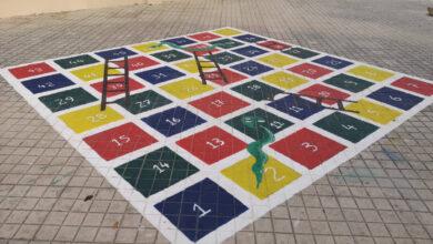 Photo of Ζωγραφίζοντας παιχνίδια στα προαύλια δημοτικών σχολείων των Φαρσάλων