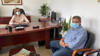 Photo of Συνάντηση του Δημάρχου Φαρσάλων με την Προϊσταμένη Πρωτοβάθμιας Εκπαίδευσης Λάρισας