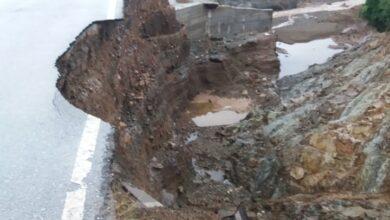 "Photo of ""Έσπασε"" η γέφυρα στο Αχίλλειο… (Pics)"