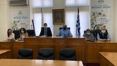Photo of Σύσκεψη για τις αποζημιώσεις παρουσία του Γενικού Γραμματέα Οικονομικής Πολιτικής και του Αντιπρόεδρου του ΕΛΓΑ